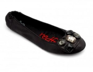 Les ballerines pliables Redfoot