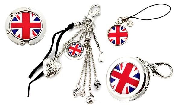 Accessoires de mode Chic Folie 'Union Jack'