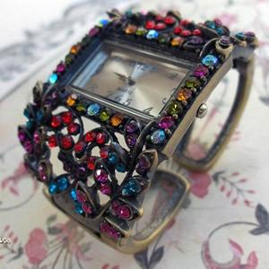 Montre bracelet femme, Montre bijou, Montre fantaisie