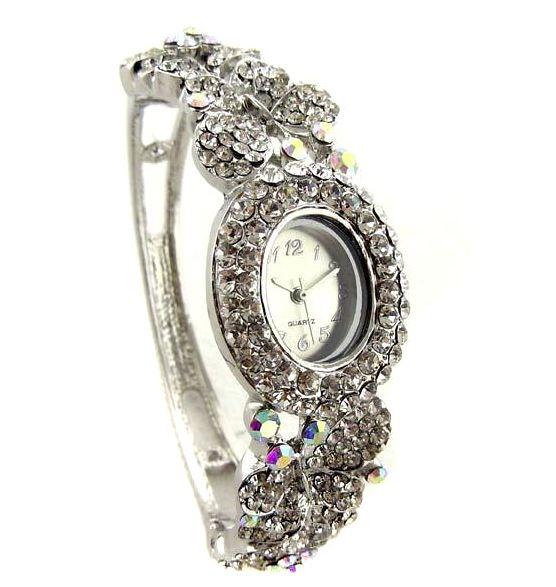 Montres bijoux strass. Montre bijou strass pour femme