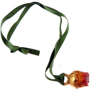 collier fleur : collier tas du cou