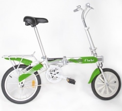 cadeau de noël vélo électrique pliant